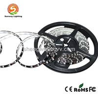 Black PCB SMD3528 Flexible LED Strip For Car Light