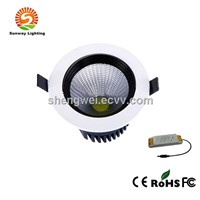 50W led downlight,COB spotlight downlight,high power led ceilling downlight