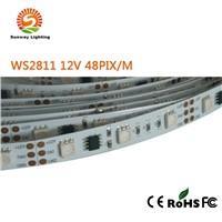 WS2811 12V 48pix/meter LED digital Strip