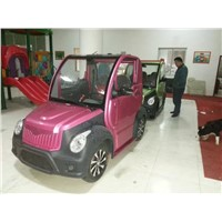 Zhejiang Sedan type and Automatic Gear box cheap battery electric car