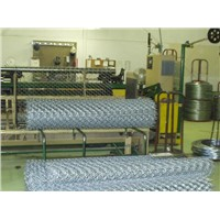 Full automatic chain link weaving machine