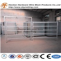 hot dipped galvanized heave duty pipe frame goat fence livestock fence cattle fence horse fence