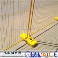 Hot dip galvanized temporary fencing, removable fence, temporary fence