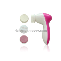 4 in 1 rotating electric facial brush massager