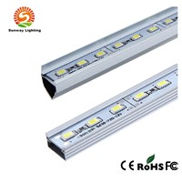 White Color IP65 LED Fridge Light LED Rigid Bar With Connector