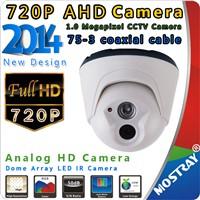 Hot Wholesale AHD 1MP 720 P Full HD CCTV Dome Camera