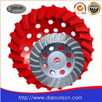 Diamond turbo cup wheels of  grinding tools
