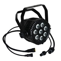 Outdoor LED PAR Light 5in1 RGBWA 10WX8 IP65 DMX Stage Light