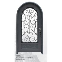 Wrought Iron Security Door HT-208A