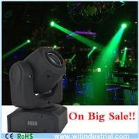 Used 10W led stage light led mini moving head
