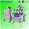 Full automatic plastic ruler screen printing machine with uv dryer