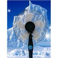 16 inch stand fan pedestal fan exported to Brazil for home and offfice optional cross or roung base