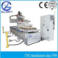 Advanced ATC CNC Router with Rotary Tool Changer and Vacuum Table