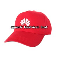 Custom promotional 5 panel baseball hat with silk screen printing logo