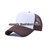 Custom promotional trucker snapback cap
