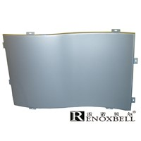 Decorative Curved Aluminum Panel for Curtain Wall