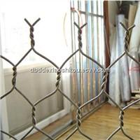 Hexagonal wire mesh/ gabion mesh/ stone cage net/ heavy duty Hex. wire mesh