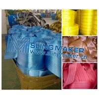 High quality webbing material for slings webbing sling flat sling band straps