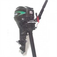 Maxus 15 HP Two Stroke Long Shaft Outboard Motor
