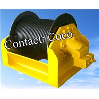 high speed hydraulic winch (drilling rig winch, marine winch, dredger winch)