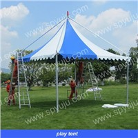 outdoor gazebo 5m x5m in white or blue for garden and park
