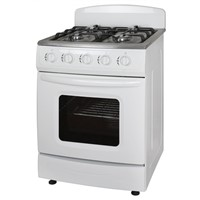 60*60cm Free Standing Gas Stove with Oven 4 burners