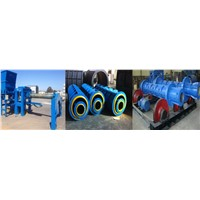 New Arrival!! Water Drainage Concrete Pipe Making machine of Roller Suspension Concrete pipe machine