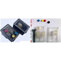 empty Refillable cartridge HP121/hp901/hp818/hp60/hp300/hp61/hp122/hp301/hp802 with transparent cap