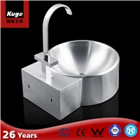 stainless steel wall hung wash basin
