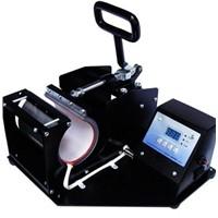 Heat transfer machine for mugs printing