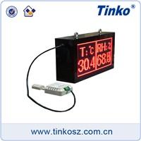 Tinko TH32A dot matrix large screen temperature humidity display monitor transmitter