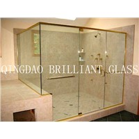 10mm shower  tempered glass door