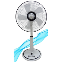 16 inch stand fan pedestal fan with fashionable style exported to Korea