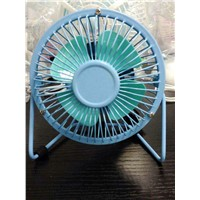 4/6 Inch USB Mini Fan with Different Colors