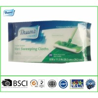 Disposable sweeping cloths