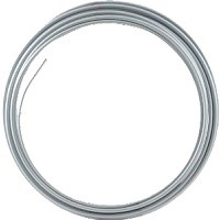 "Hydraulic steel brake line tubing coil 25 feet, 3/16"" OD"