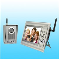 7-inch Hot Cheap Color Video Door Phone with Recording Function Wireless
