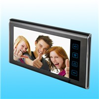 7-inch TFT Indoor Monitor Video Intercom Door Phone, Supervise the Front Door Situation Anytime