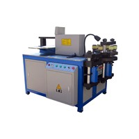 CNC double decker copper busbar processing machine