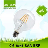 China wholesale energy saving  led filament lamp 4W G95