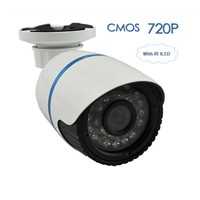 IP Camera CMOS 720P Securiy, Waterproof HD Network CCTV Bullet Camera