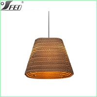2015 new product arrival modern elegant e27 modern living room lamps pendant