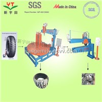 otr tire recycling plant/tire cutting machine/otr tire shredder