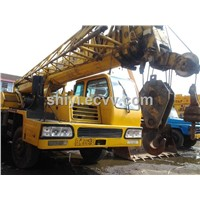 used 25t mobile crane XCMG QY25/ used xcmg crane truck crane