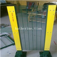 Green Colour 358 Wire Mesh Fencing
