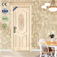 Fashion design wood veneer composite mdf interior wooden door