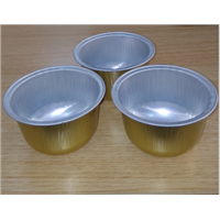 High Quality Aluminum Foil Pudding Cup
