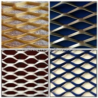 expanded metal mesh/aluminum expanded metal/stretch metal mesh