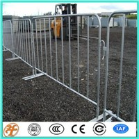 hot dipped galvanized after welding heavy duty traffice crowd control barrier equipment for sale