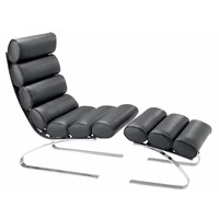 Bibendum chair classic chair living room chair lazy chair chair sofa single chair with stool